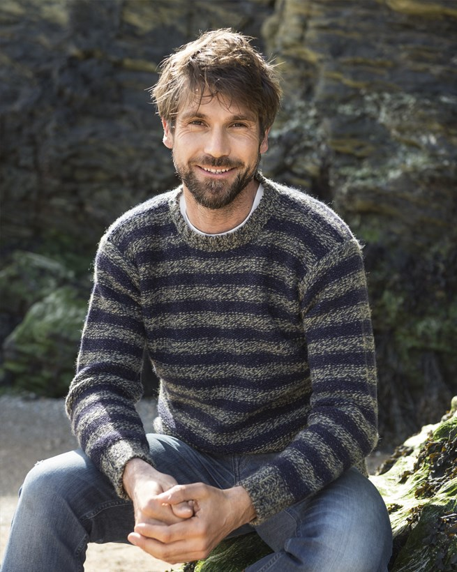 Men's Striped Jumper