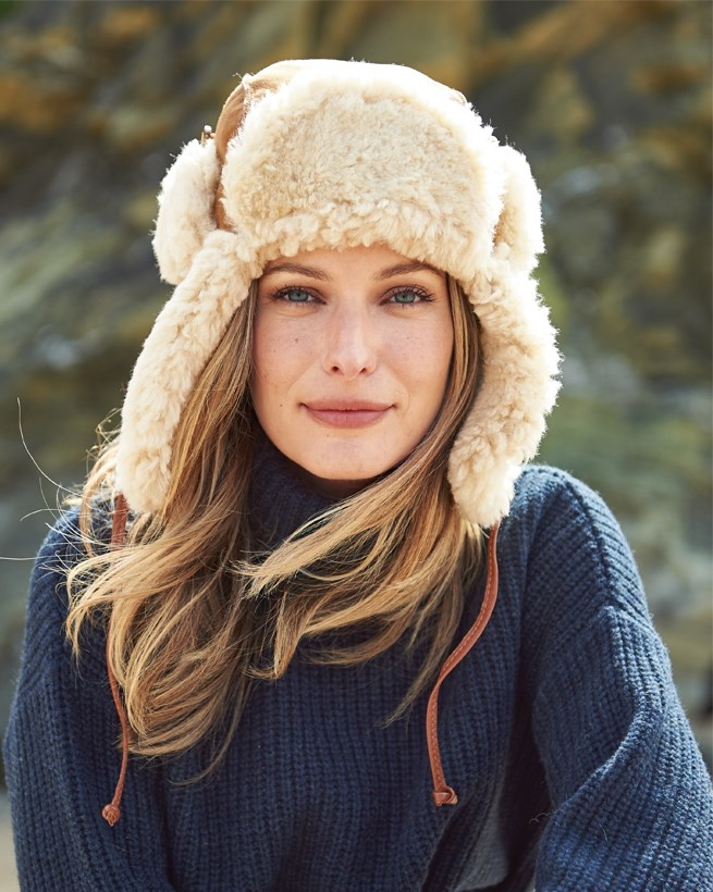 Sheepskin Denver Hat
