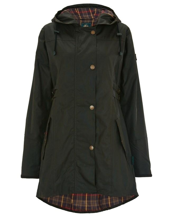 Wax Riding Coat
