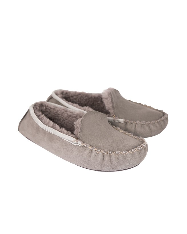 Dena Moccasins - Size 7 - Grey