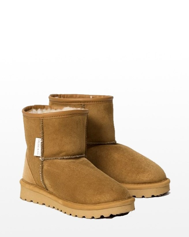 MENS SHORTIE BOOTS - SIZE 13-14 - SPICE 347