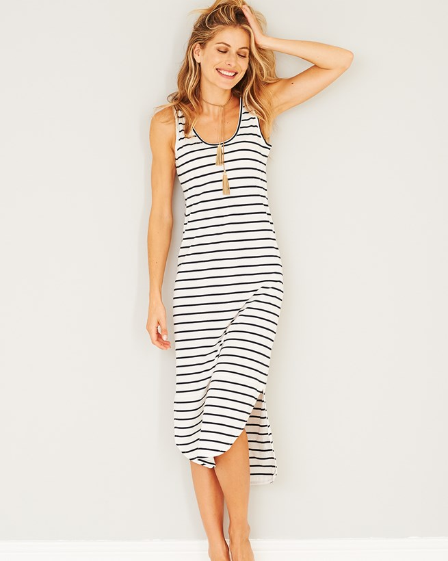Organic Cotton Vest Dress