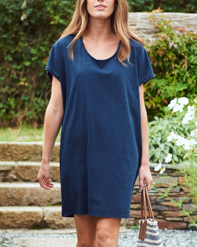 Indigo T-shirt Dress