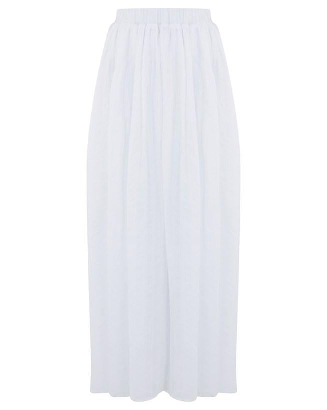 White Maxi Skirt - Size Xsmall