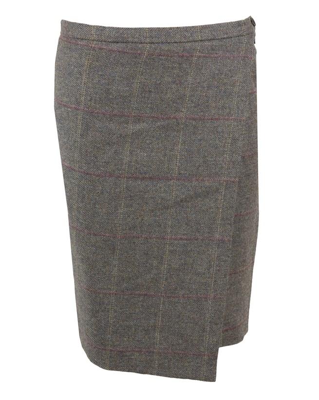 Wool Skirt - Size 10 - Plover