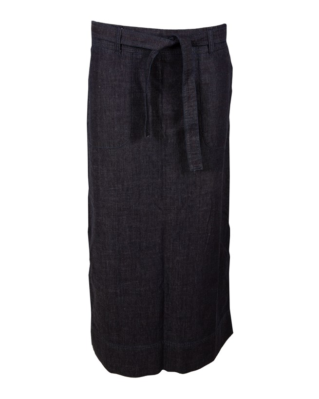 Denim Maxi Skirt - Size 16 - 434