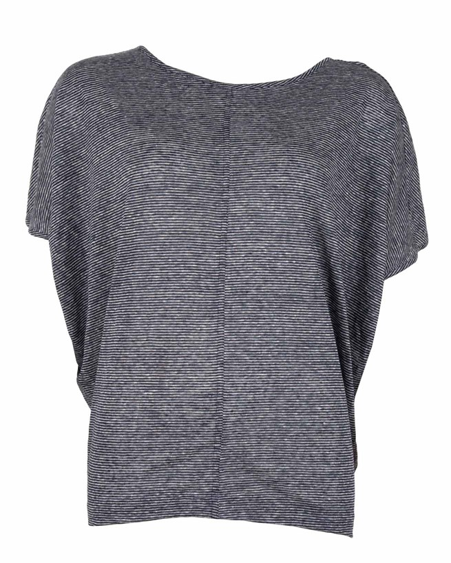 473-linen batwing top- small- blue micro stripe- front.jpg