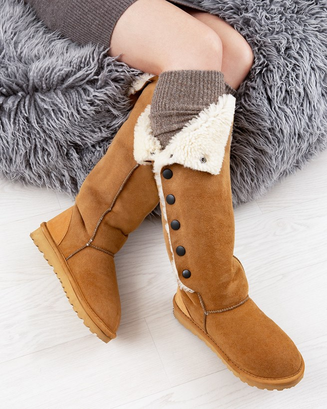 Popper Boots - Knee Height