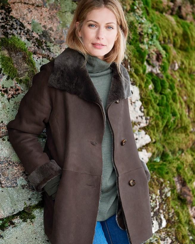 Sheepskin Box Jacket