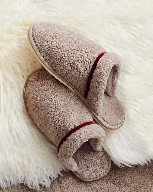 Havanne Sheepskin Mule