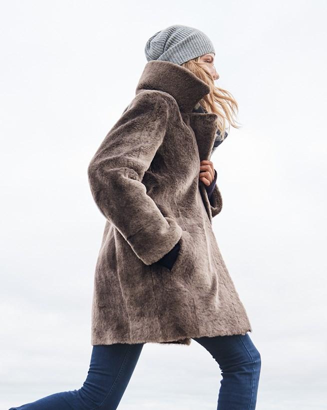 Sheepskin City Coat