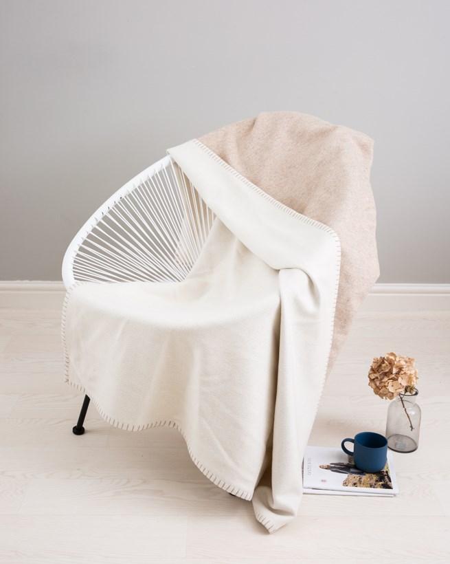 Cashmerino Blanket