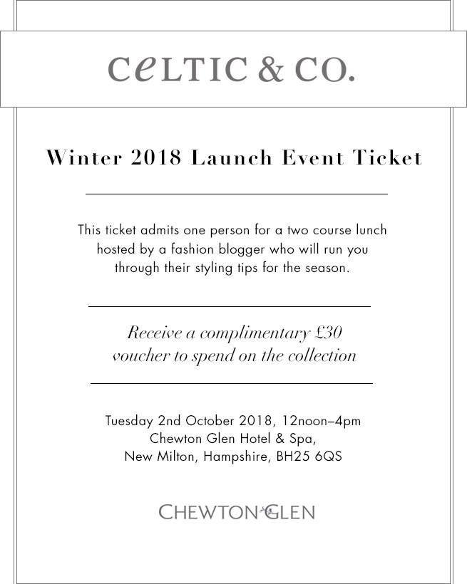 Chewton Glen Event Ticket