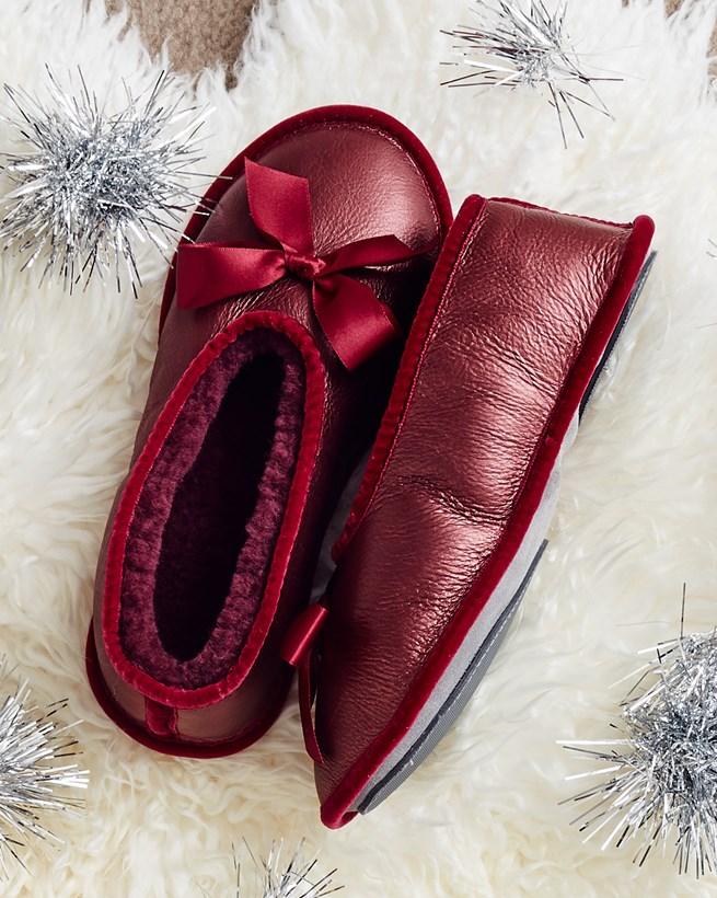 Sheepskin Ballerina Slippers