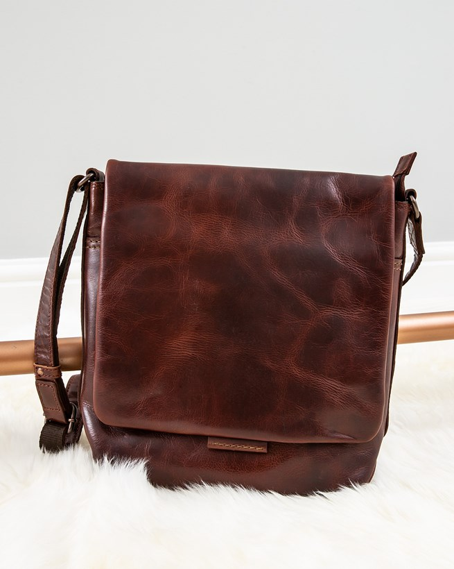 Burnished Medium Body Bag
