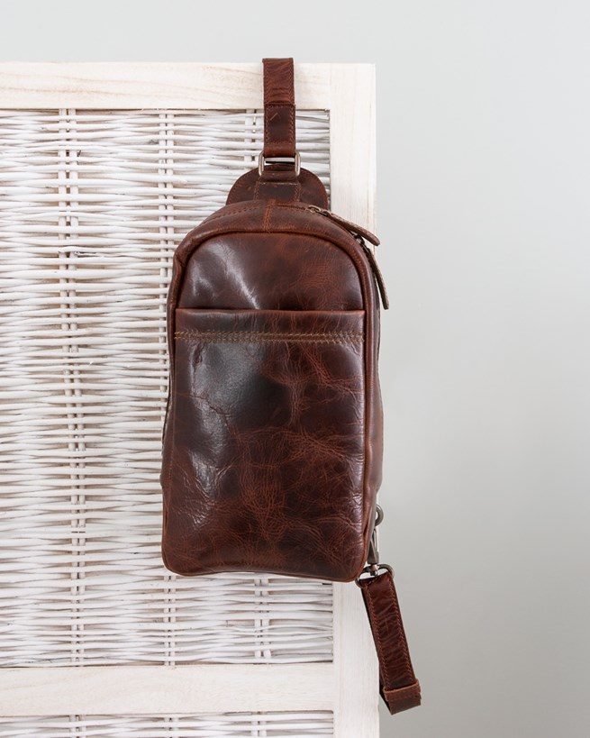 Burnished Sling Bag