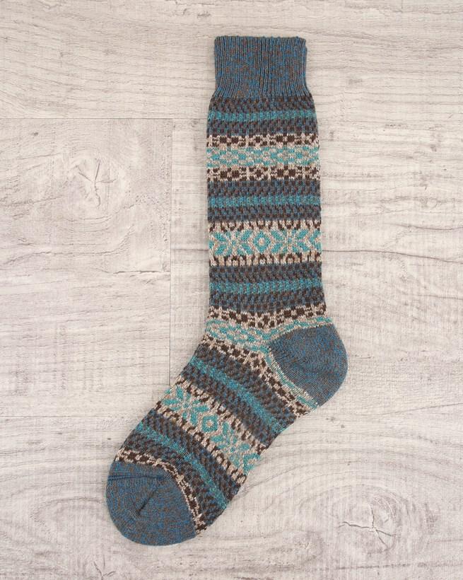 Mens Fair Isle Socks