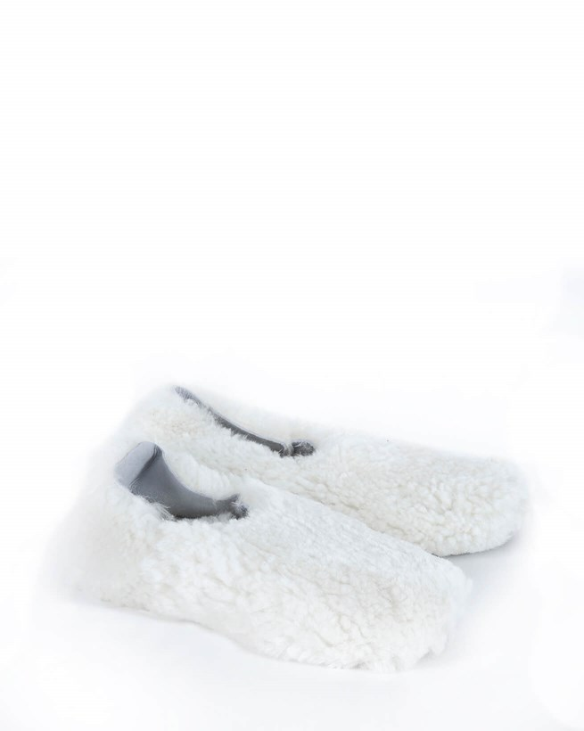 Cocoon Slippers - Size 6 - Ivory 576