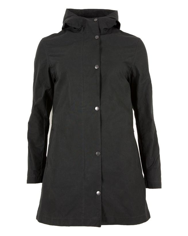 Wax Rain Jacket - Size 12 - Black 770