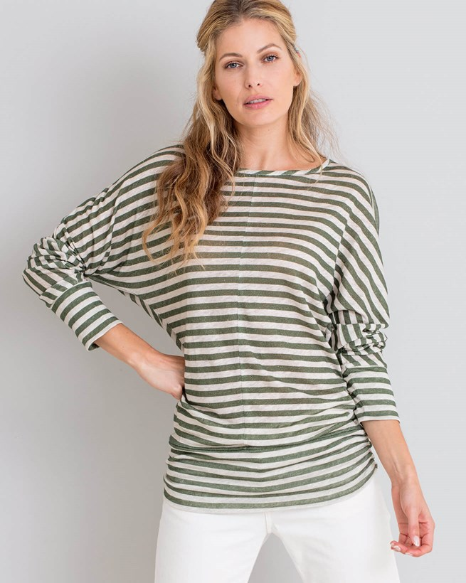 Linen Long Sleeve Dolman