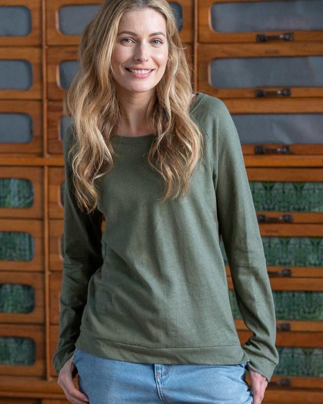 Linen Cotton Sweatshirt