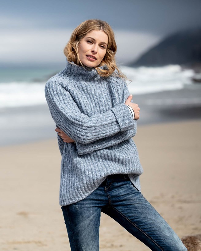 Chunky Fishermans Rib Sweater