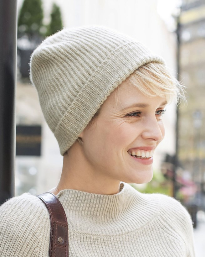 Eco Luxe Cashmere Beanie