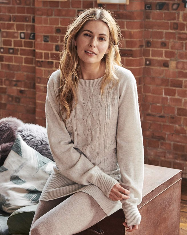 Lace Cable Supersoft Jumper