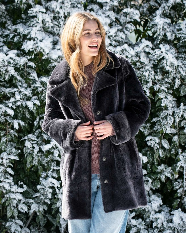 Sheepskin City Coat